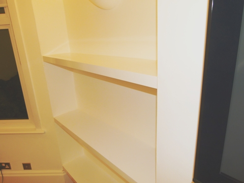 sprayed wardrobes and furniture